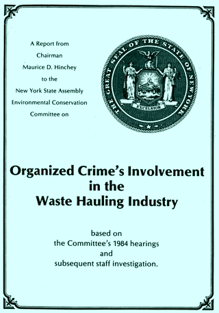 Organized Crime in the Waste Hauling Industry report